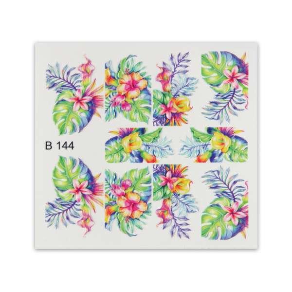 Nailart Sticker 3D - B144