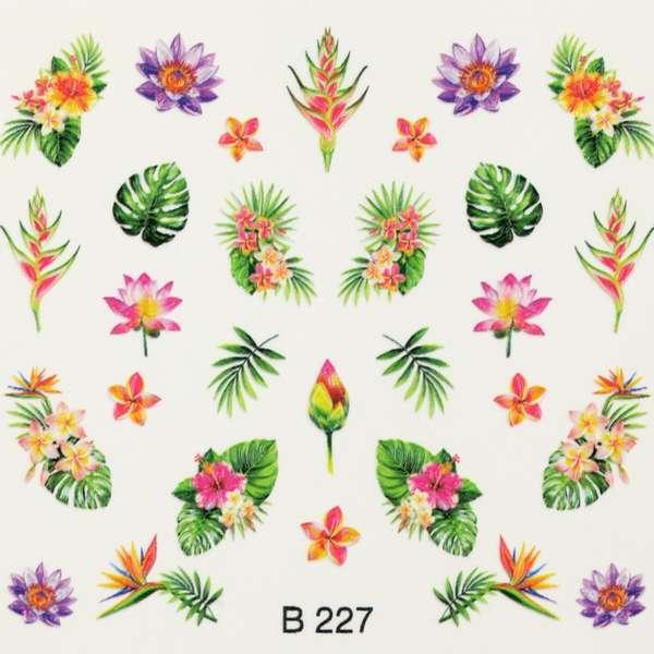 Nailart Sticker 3D - B227