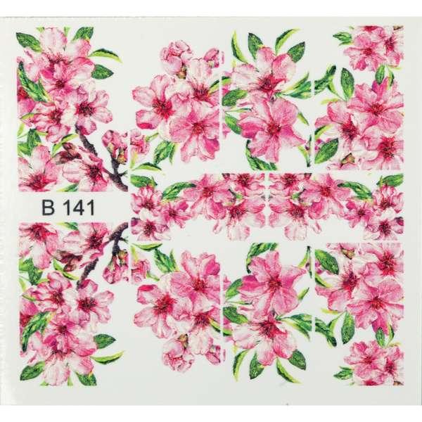 Nailart Sticker 3D - B141