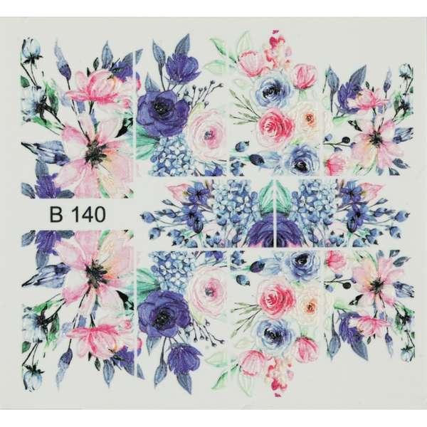 Nailart Sticker 3D - B140