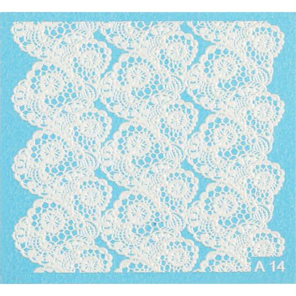 Nailart Sticker 3D - A14