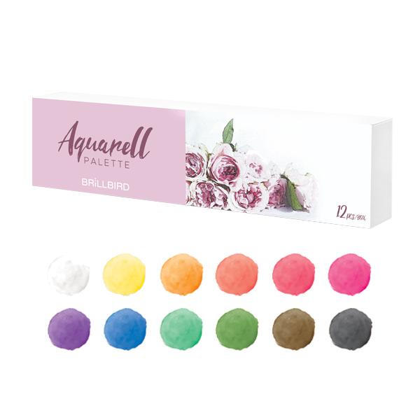 Aquarellfarben Set -12 Farben