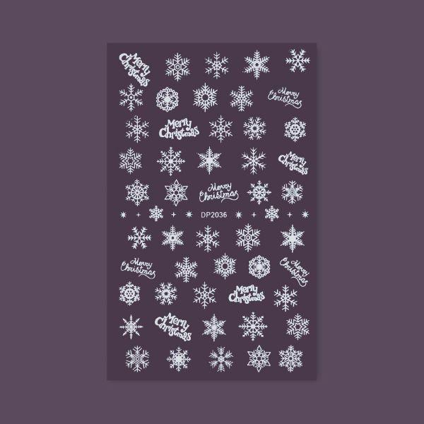 """Weihnachtliche Sticker """"DP-2036"""""""